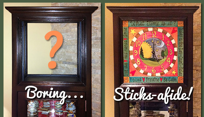 The Perfect Fit! – A Sticks Clock Retrofit
