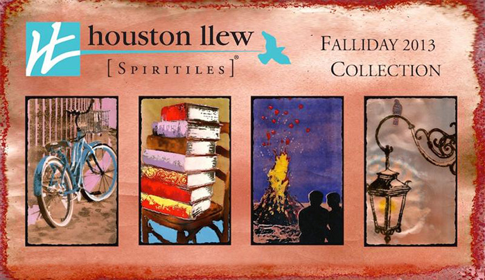 New Spiritiles from Houston Llew for the Fall-iday Season!