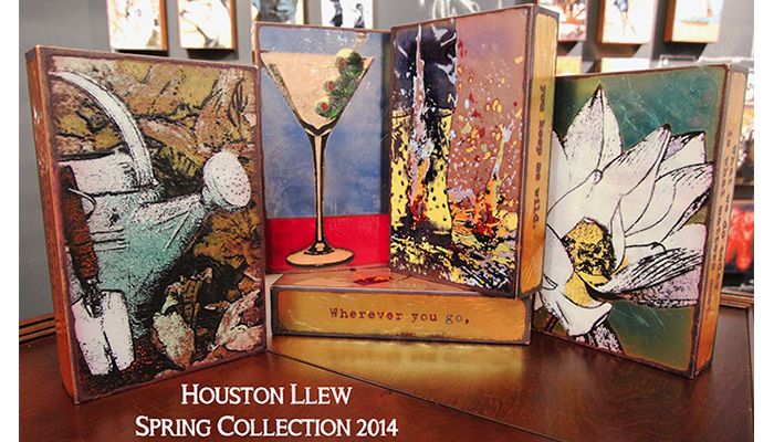 Houston Llew Spiritiles Spring Collection 2014