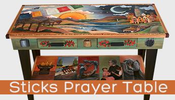 Sticks Prayer Table – A Spiritual Design