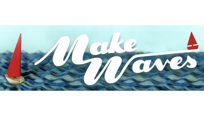 Be Brave, Make Waves!  New Kinetic Sculptures