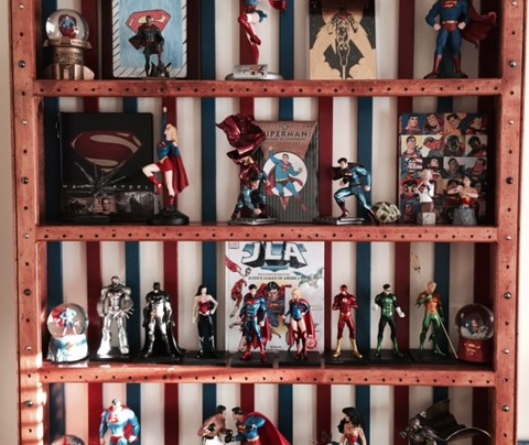 Custom Shelf by David Marsh – A Super Shelf for Superman