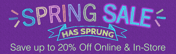 Artcraft's Huge Spring Sale is Here!