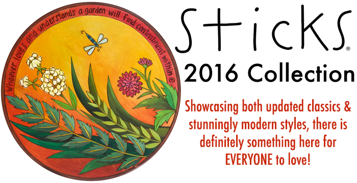 Introducing the Sticks 2016 Collection!