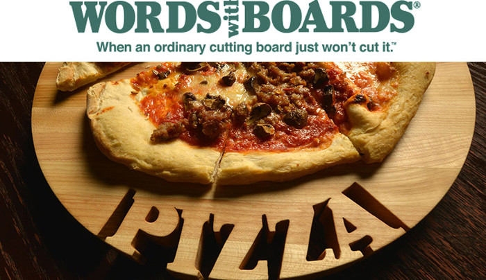 Words with Boards: When an Ordinary Cutting Board Just Won't Cut It!