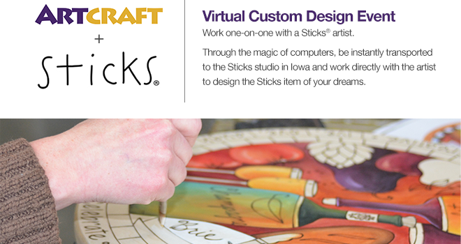 Sticks 2016 Virtual Custom Design Event
