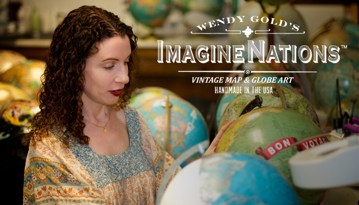 Introducing ImagineNations Custom Maps & Globes!
