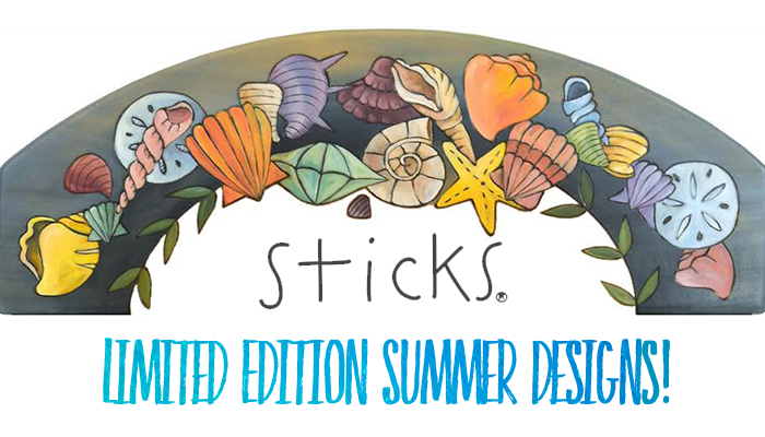 Sticks Furniture Limited Edition Summer Designs!