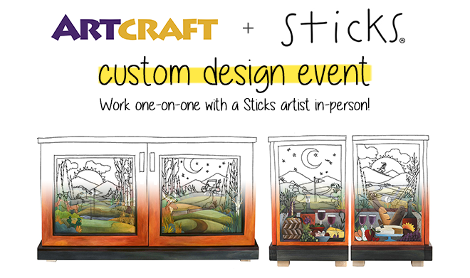Sticks Custom Design Event 2016 is Coming!